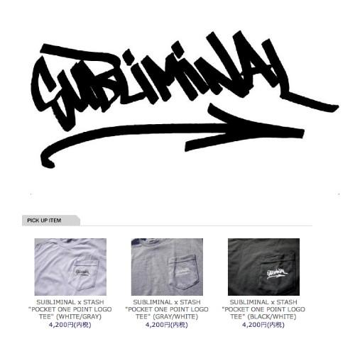 SUBLIMINAL x STASH