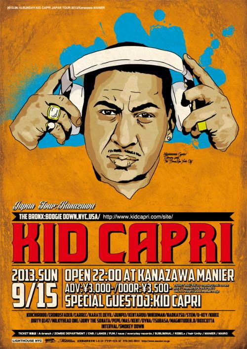 KID CAPRI JAPAN TOUR in Kanazawa