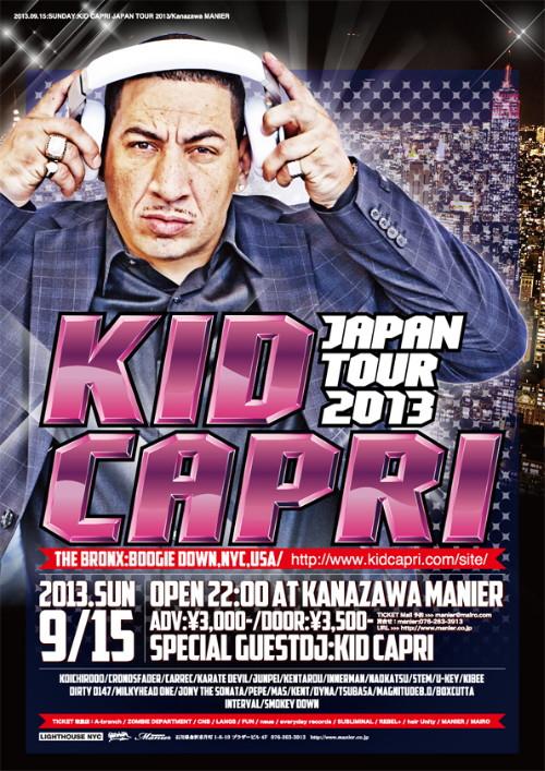 KID CAPRI JAPAN TOUR 2013 in Kanazawa