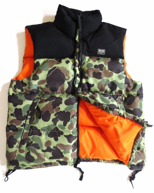 Ralph Lauren Denim Supply Down Puffer Camouflage Camo Vest Jacket