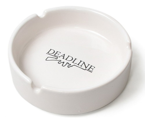 DEADLINE Tommy Gun Ceramic Ash Tray