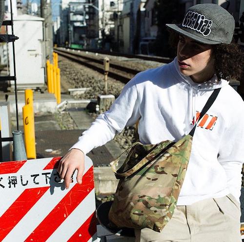 """LEGALIZE-TOKYO """"CAMO BAG"""""""