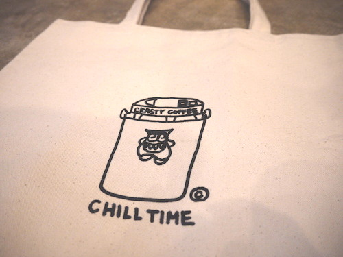 CRASTY CHILL TIME TOTE BAG