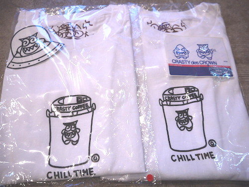 CRASTY CHILL TIME Tee