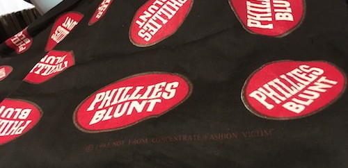 PHILLIES BLUNT 1993 BANDANA (DEAD STOCK)