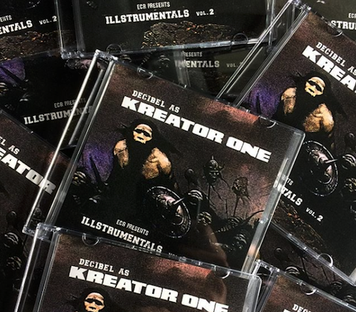 DECIBEL AS KREATOR ONE / ECR PRESENTS ILLSTRUMENTAL vol,2