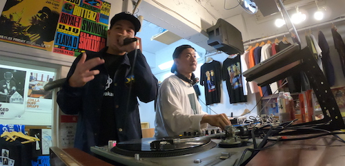 LGZ x MIYACHI POP UP STORE @Manhattan Records