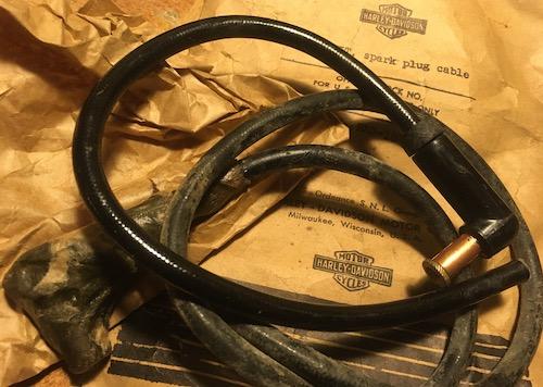 HD純正 spark plug cable